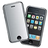 Durable Mirror Reusable LCD Screen Protector for Apple 2nd Generation Iphone 3G Smartphoneby Bargaincell