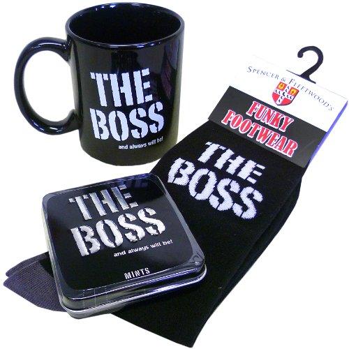 The Boss Mug Gift Set