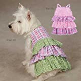 Zack & Zoey UM3003 14 75 Summer Breeze Dress for Dogs, Small/Medium, Pink