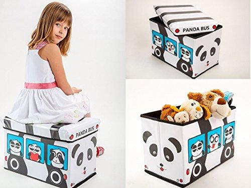 Aufbewahrungsbox-mit-Deckel-Spielzeugkiste-Spielzeugbox-Sitz-Hocker-3718-Panda