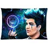 Rock God Cool Pop Singer Star Adam Lambert Pillowcase Soft Pillow Case Cover 20x30(One Side)