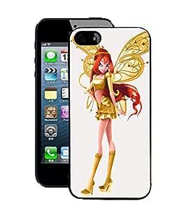 Fuson 2D Printed Angel Doll Designer Back Case Cover for Apple iPhone 5S - D908