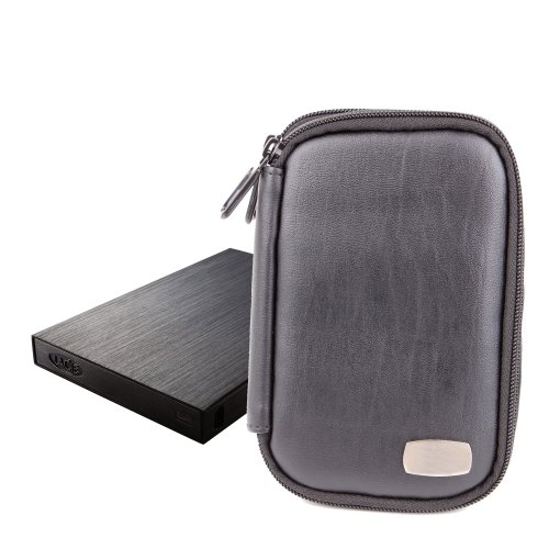 Professional External Hard Drive Sleeve For LaCie Rugged Safe, Porsche Design P9220, By DURAGADGET