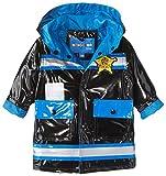 Wippette Baby Boys JR Police Rain, Black, 12 Months
