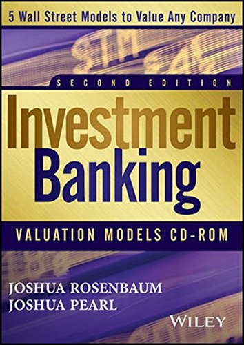 Investment Banking Valuation Models CD (Lbo Model compare prices)