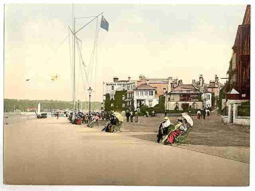 Photo Cowes marine parade Isle of Wight A4 10x8 Poster Print