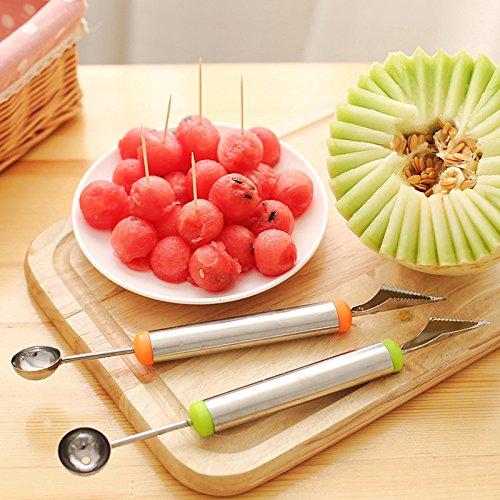 Zelta stainless steel fruit carving knife multifunction
