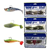 Panther Martin Vivif 12 Piece Swimbait Value Fishing Lure Assorted Color Kit (1/3 Ounce, 2.5-Inch)