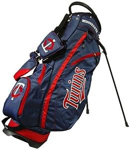 MLB Minnesota Twins Fairway Stand Golf Bag, Navy by Team Golf