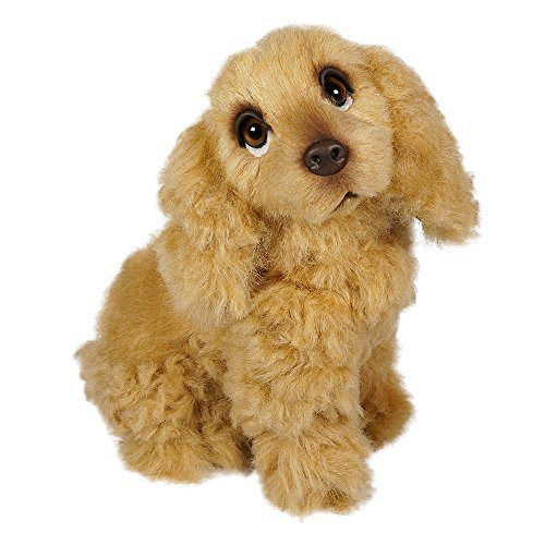 Cocker Spaniel Puppy by Piutrè - Italian Handmade Plush Stuffed Animal (Color: Buff)