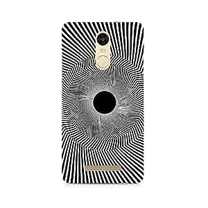 Mobicture Black Hole Illusion Premium Printed Case For Xiaomi Redmi Note 3