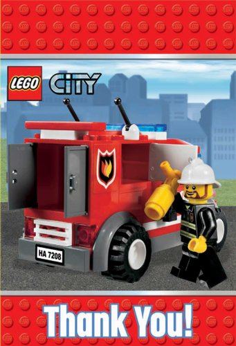 LEGO City Thank-You Notes Party Accessory