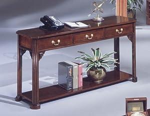 Traditional Mahogany Sofa Table Executive Mahogany