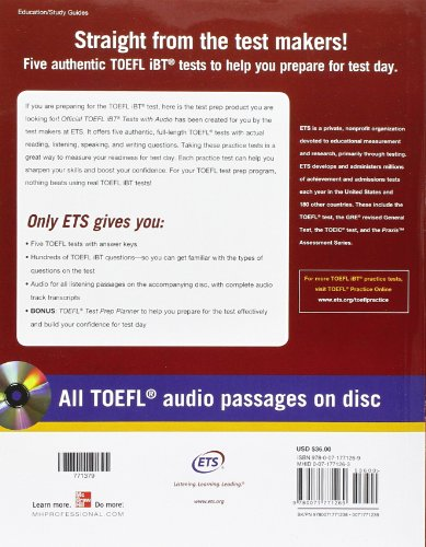 Free download The Official Guide to the TOEFL iBT (4th