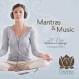 Chopra Center: 21-Day Meditation Challenge Mantras & Music (2-CD Set)