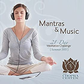 Chopra Center: 21-Day Meditation Challenge Mantras & Music (2-CD Set)