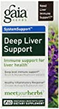 Gaia Herbs Deep Liver Support Liquid Phyto-Capsules, 60 Count