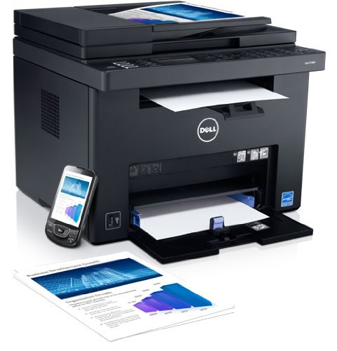 C1765Nf Led Multifunction Printer - Color - Plain Paper Print - Desktop