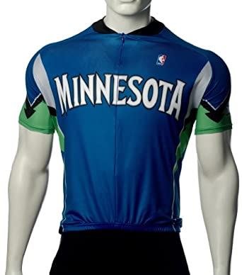NBA Minnesota Timberwolves Mens Cycling Jersey by VOmax