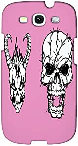 Timpax protective Armor Hard Bumper Back Case Cover. Multicolor printed on 3 Dimensional case with latest & finest graphic design art. Compatible with Samsung S3 - I9300 Galaxy S III Design No : TDZ-26800