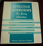 Effective Interviews for Every Situation (Modern business reports)