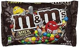 M&M\'s Chocolate Candies, Large Bag - Milk Chococlate - 19.2 oz