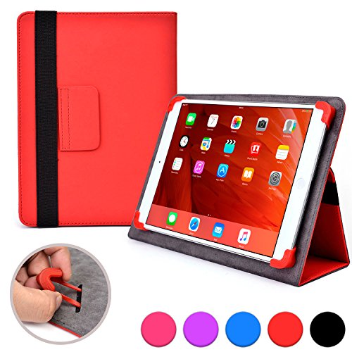 Click to buy Cooper Cases (TM) Infinite Elite Acer Iconia Tab A500, A501, A510, A511, W3, W4-820 Tablet Folio Case in Red (Universal Fit, Built-in Viewing Stand, Elastic Strap Cover Lock) - From only $21.99