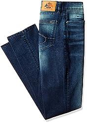 IZOD Men's Sandler Skinny Fit Jeans (8907259314730_ZLJN0051_34W x 34L_Indigo)