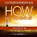How Not to Give Up: A Motivational & Inspirational Guide to Goal Setting and Achieving your Dreams (Inspirational Books Series) Audiobook by R. L. Adams Narrated by Smokey Rivers