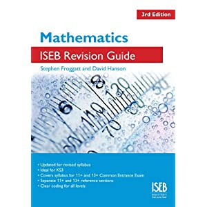 Maths ISEB Revision Guide - Common Entrance Exam