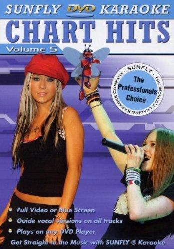 Sunfly DVD - Karaoke - Chart Hits - Vol. 5