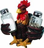 River's Edge Salt and Pepper Shaker Holder (Rooster)