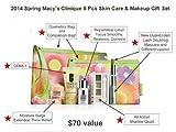 Clinique Macy's 2013 Spring 7 Pcs Skin Care & Makeup Gift Set (A $70 Value)
