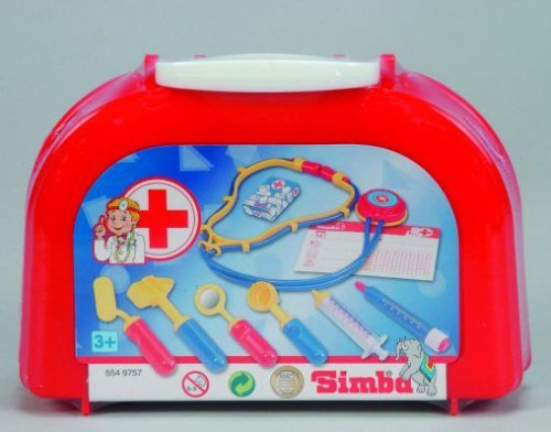 Childrens 10 Piece Little Doctor Toy Play Set Kit