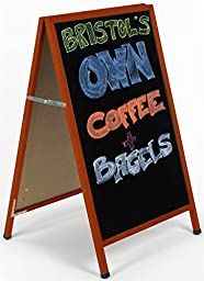 A-Frame Sidewalk Display Stand with 23-1/2\