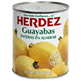 Herdez Guava Whole, 28-Ounce (Pack of 6)