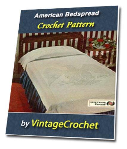 Americana Bedspread Vintage Crochet Pattern