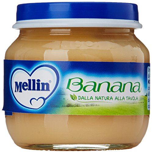 Mellin - Omogeneizzato Banana Gr.100 (2 Pezzi)