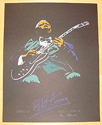 2008 B.B. King - Silkscreen Concert Poster by Billy Perkins
