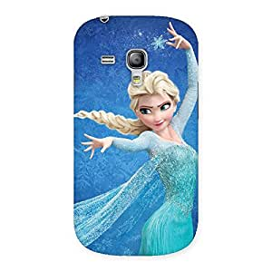 Enticing Angel And Cutness Back Case Cover for Galaxy S3 Mini