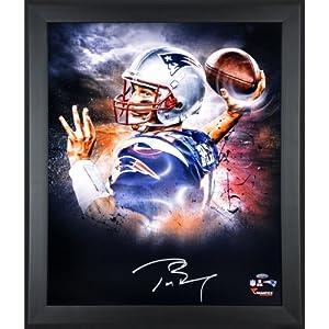 Tom Brady New England Patriots Framed Autographed 20