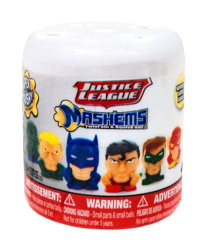 Dc Comics Mashem Capsule - Blind Bag - Series 1 - Mash'ems - 1