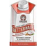 Califia Farms Better Half Coffee Creamer, Coconut Cream and Almondmilk, Half & Half, Dairy Free, Plant Milk, Vegan, Non-GMO, Original, 16.9 Oz (Pack of 6)