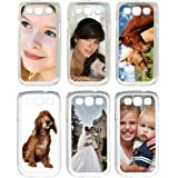 Personalized Photo Samsung Galaxy S3 Custom Picture on Hard Case Cover by Y's Gifts