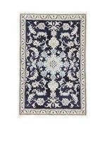 Eden Alfombra Nain K Azul/Marfil 90 x 137 cm