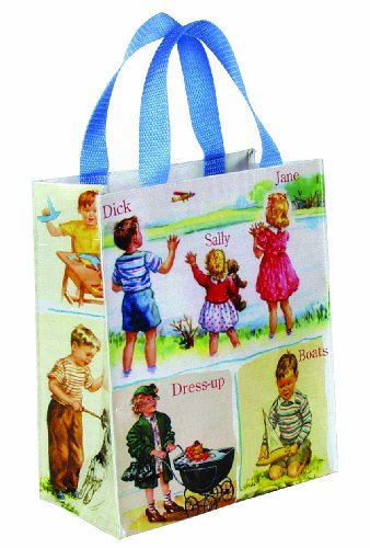 Blue Q Dick &amp; Jane Handy Tote