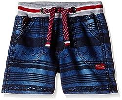 Little Kangaroos Boys' Shorts (11093_Dark Blue_4 year)