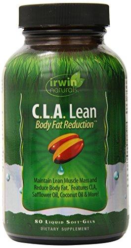 Irwin Naturals C.l.A. Lean Body Fat Reduction Supplement, 80 Count
