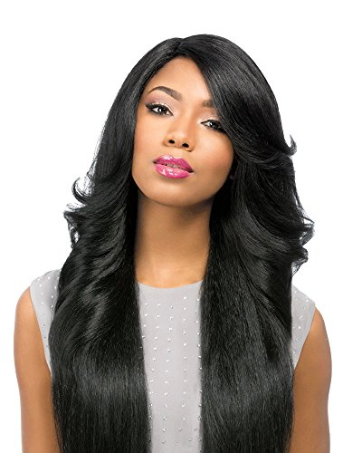 [[Lace Front Wig]Sensationnel Empress Synthetic Custom Lace Front Edge Wig-Perm Wedge-New (1)] (Perm Wigs)