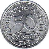 50 Pfennig Alemania, 1921 A (Jäger: 301) EBC